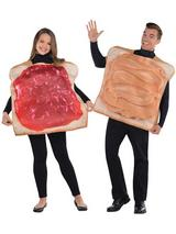 Adult Peanut Butter & Jelly Couples Costumes
