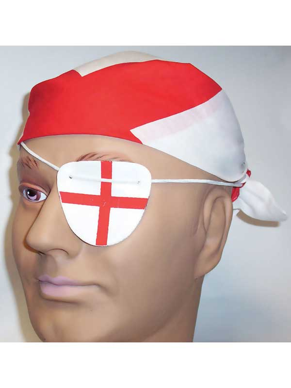 St George England Bandana & Eyepatch