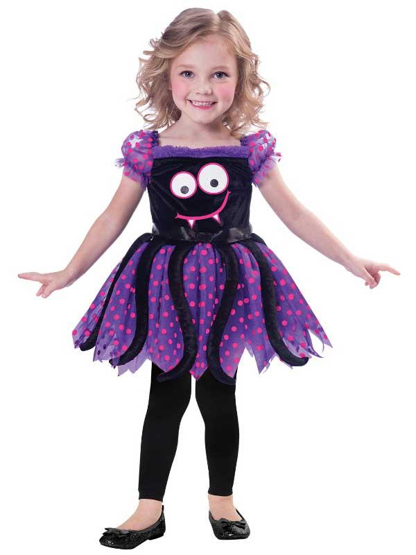 Child Itsy Bitsy Spider Costume Dress