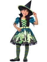Child Girls Hocus Pocus Witch Costume Dress