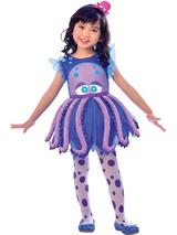 Child Girls Octopus Costume Dress