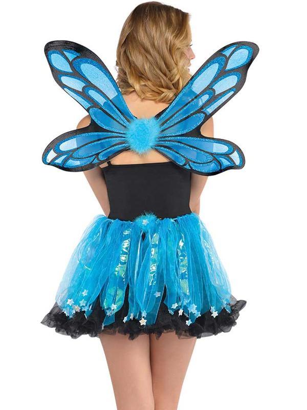 Adult Ladies Blue Pixie Costume Kit