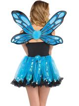 Adult Ladies Blue Pixie Costume Kit