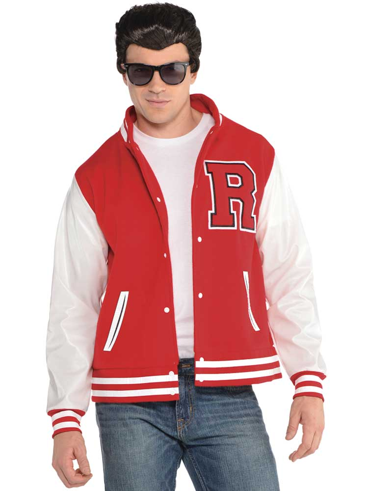 Adult Mens Letterman Jacket