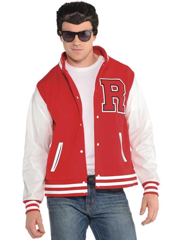 Adult Mens Letterman Jacket
