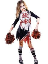 Childs Zombie Cheerleader Costume