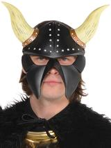 Adult Demon Warrior Mask With Horns