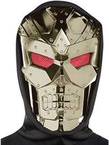 Adult Hooded Dark Robot Mask