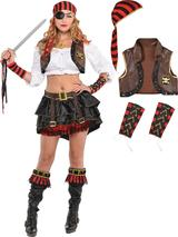 Adult Ladies Swashbuckler Kit