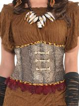 Adult Ladies Waist Cincher Corset Witch Doctor