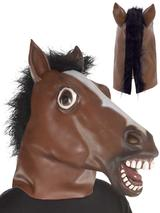 Adult Horse Full Head Mask