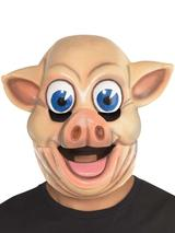 Adult Pig Cartoon Eyes Full Head Mask