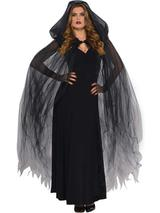 Adult Ladies Temptress Cape Dark