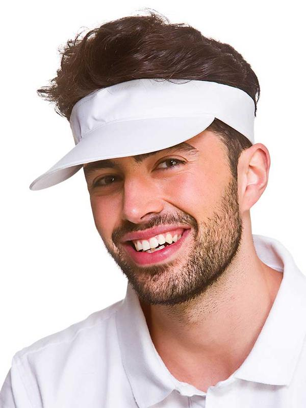 Adult Golf Visor (White) Thumbnail 2