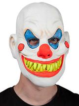 Adult Neon U.V Clown Mask