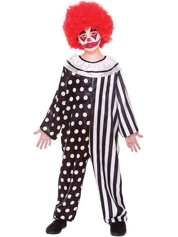 Child Boys Kreepy Klown Costume