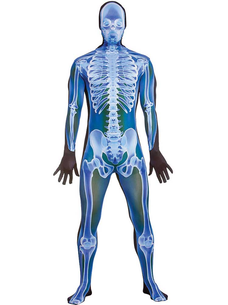 Adult Mens X- Ray Skinz Costume