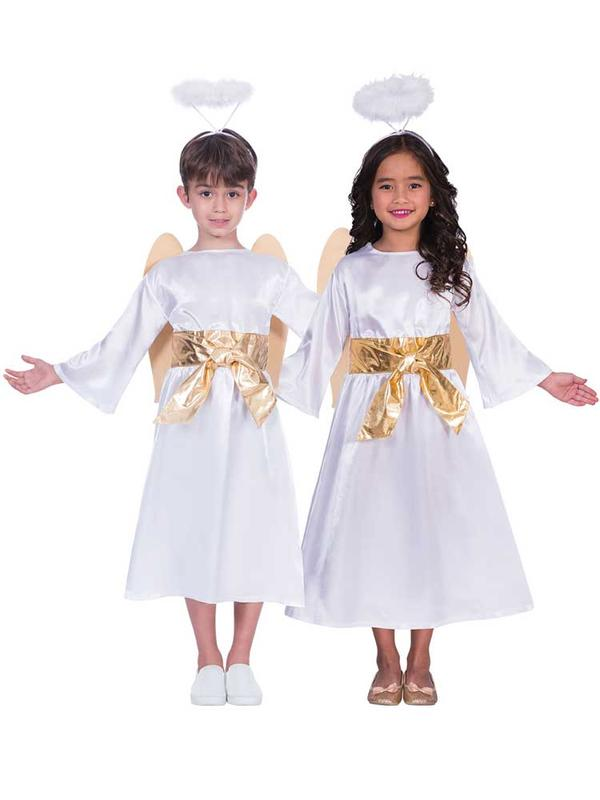 Child Angel Gabriel Unisex Costume Thumbnail 1