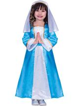 Child Girls Mary Costume