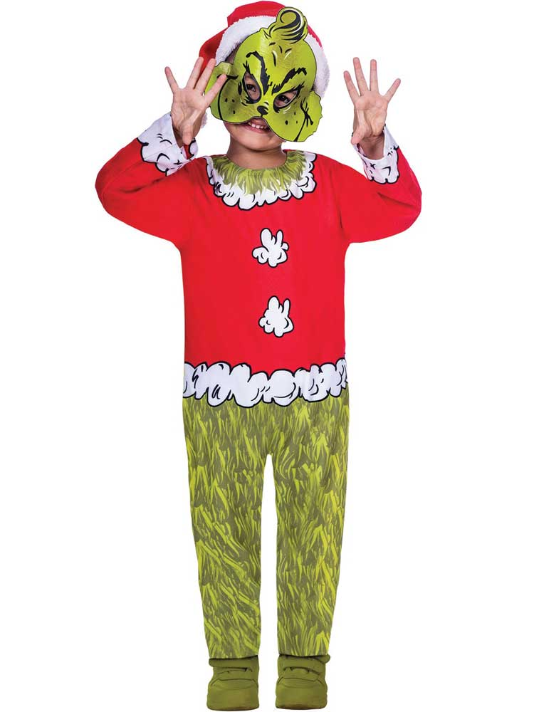 Child Boys The Grinch Costume