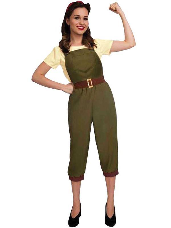 Adult Ladies Land Girl Costume
