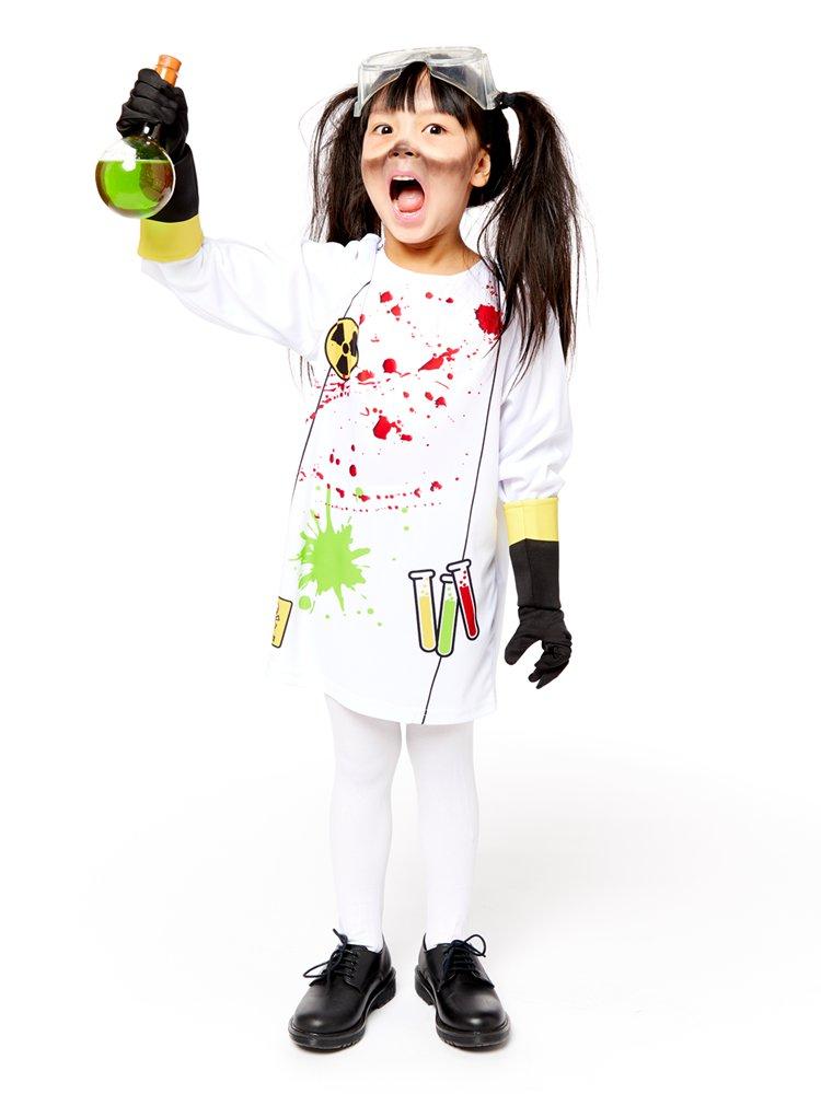 Zombie Pom-Pom Girls Fancy Dress Kids Enfants Enfant Costume Halloween Neuf