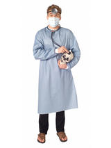 Rubies Red Doctor Costume Kit With Stethoscope