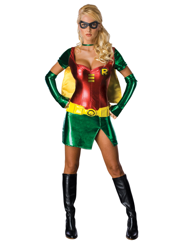 Sentinel Adult Female Robin Party Fancy Dress Costume Batman Superhero Sexy Ladies BN  sc 1 st  eBay & Adult Female Robin Party Fancy Dress Costume Batman Superhero Sexy ...