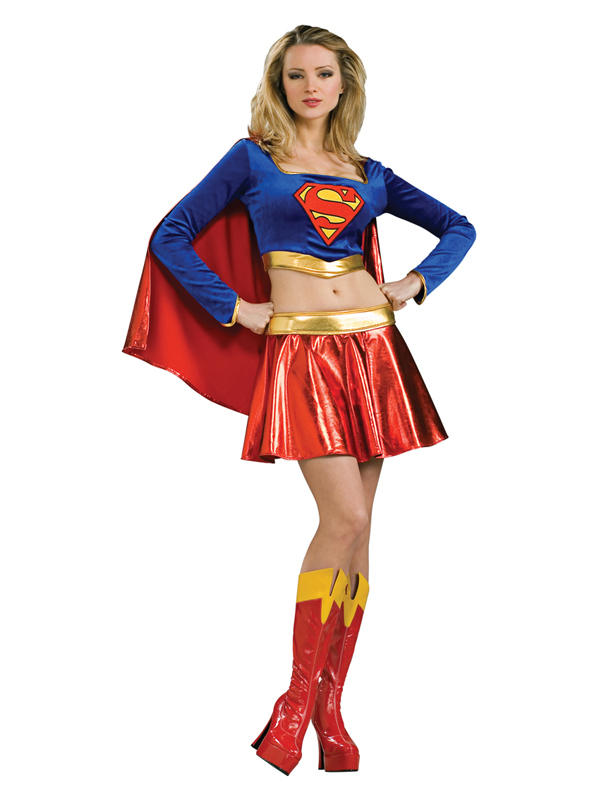 Sentinel Adult Super Sexy Supergirl Fancy Dress Costume Ladies Womens Female BN  sc 1 st  eBay & Adult Super Sexy Supergirl Fancy Dress Costume Ladies Womens Female ...