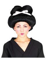 Black Geisha Wig