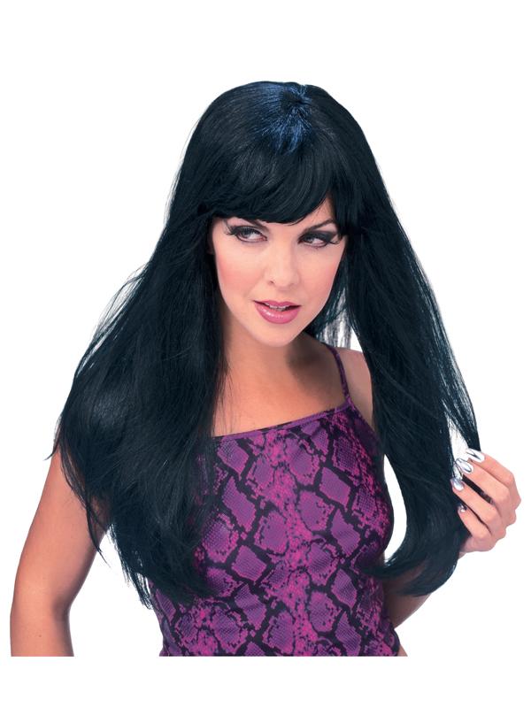Black Long Glamour Wig