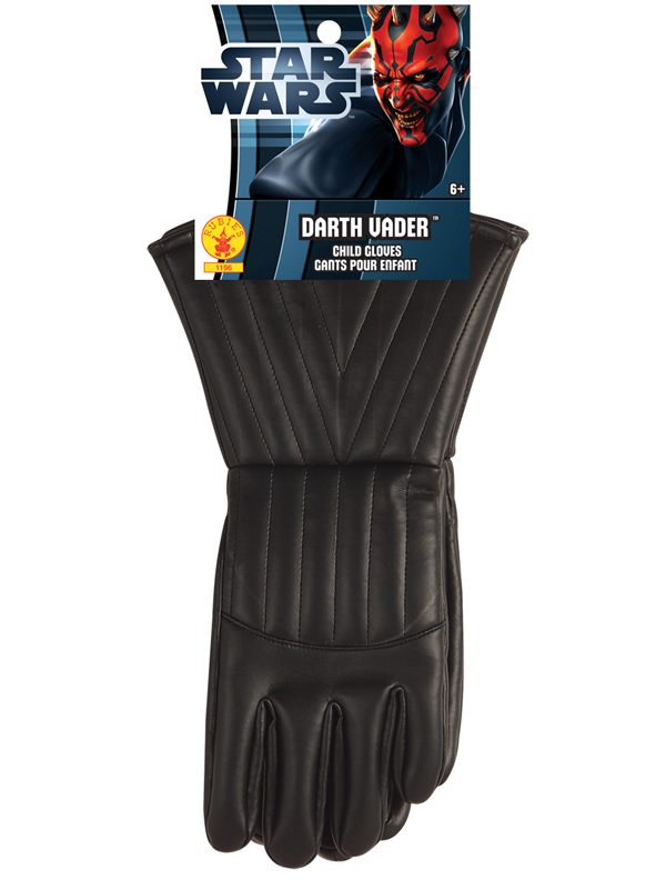 Child Darth Vader Gloves