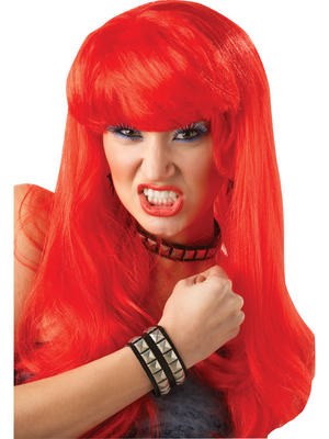 Red Glamour Wig Thumbnail 2