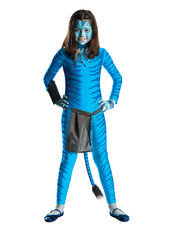 sentinel child neytiri party outfit fancy dress avatar movie costume halloween girls bn