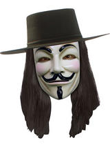 V For Vendetta Adult's Wig