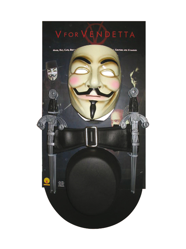 V For Vendetta Men's Fancy Dress Kit