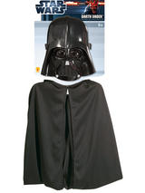 Child Darth Vader Cape & Mask Set Costume