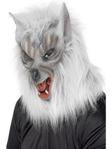 Adult Werewolf Mask with Hair