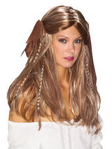Adult Ladies Deluxe Pirate Wench Wig