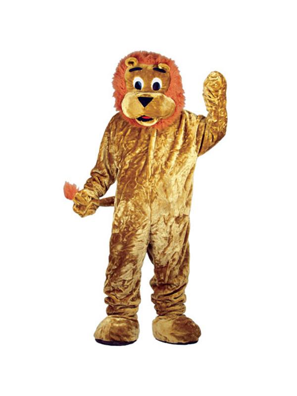 Men's Giant Lion Jumpsuit Costume
