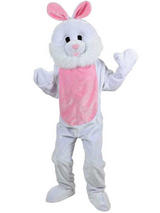 Men's Giant Bunny Rabbit Jumpsuit Costume