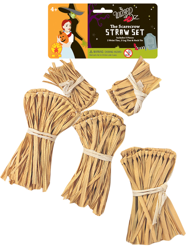 Wizard Of Oz Straw Kit