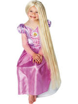 Child Rapunzel Glow In The Dark Wig