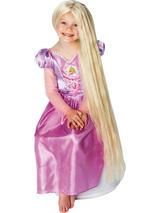 Child Rapunzel Glow In The Dark Wig