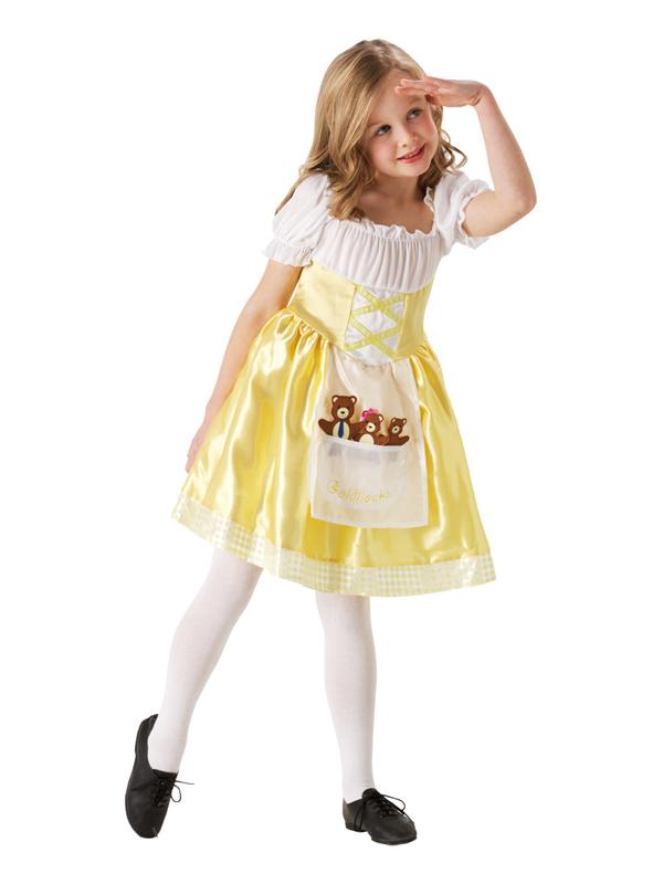Sentinel Child Goldilocks Fancy Dress Costume Fairytale Book Week Girls Female Bears BN  sc 1 st  eBay & Child Goldilocks Fancy Dress Costume Fairytale Book Week Girls ...