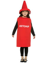 Child's  Ketchup Costume (Age7to10)