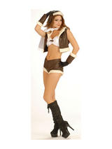Bomb Shell Babe Aviator Costume