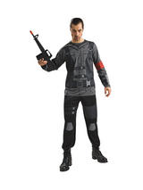 Adult Mens Licensed John Connor Terminator Salvation Costume (Extra Large)
