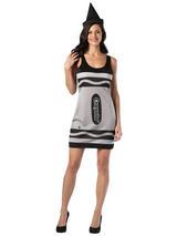Adult's Black Crayola Dress (S/M)