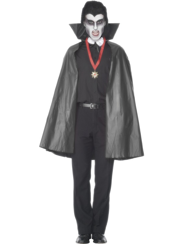 Halloween Black Pvc Cape